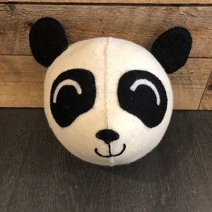 Decorative panda head - tete de panda decorative